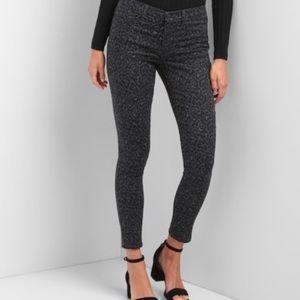 GAP Leopard High Stretch Easy Legging Jeans!